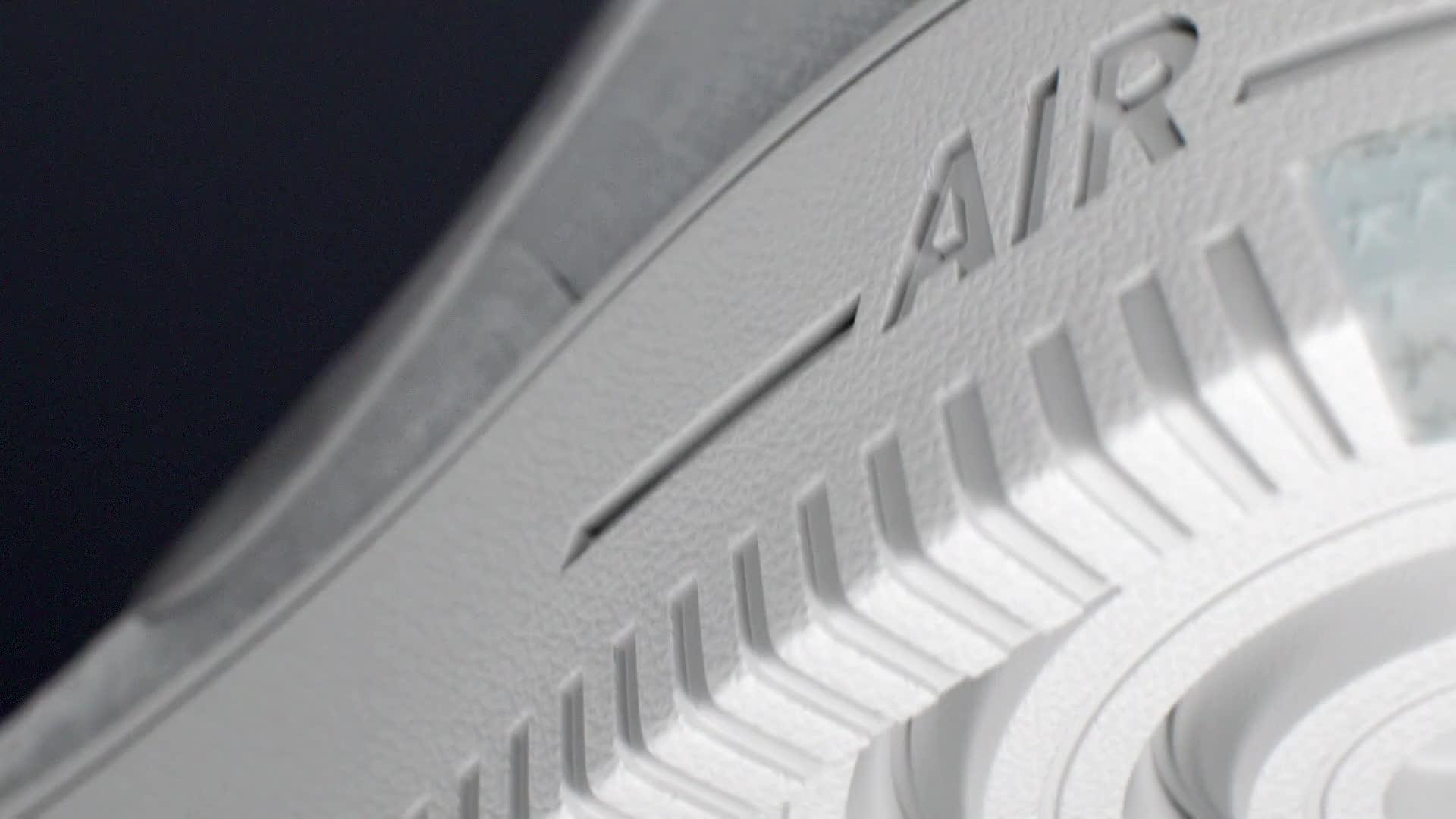 Nike Flyknit sport 3d cgi air force 1 sole air