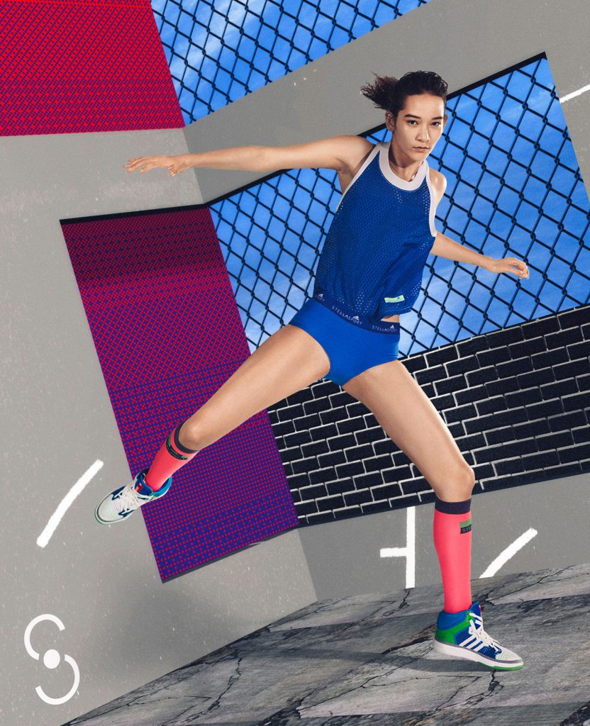 Stella McCartney Stella Sport 3d render cgi film video fashion