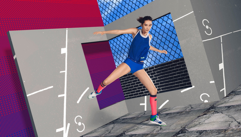 Stella McCartney Stella Sport 3d render balance
