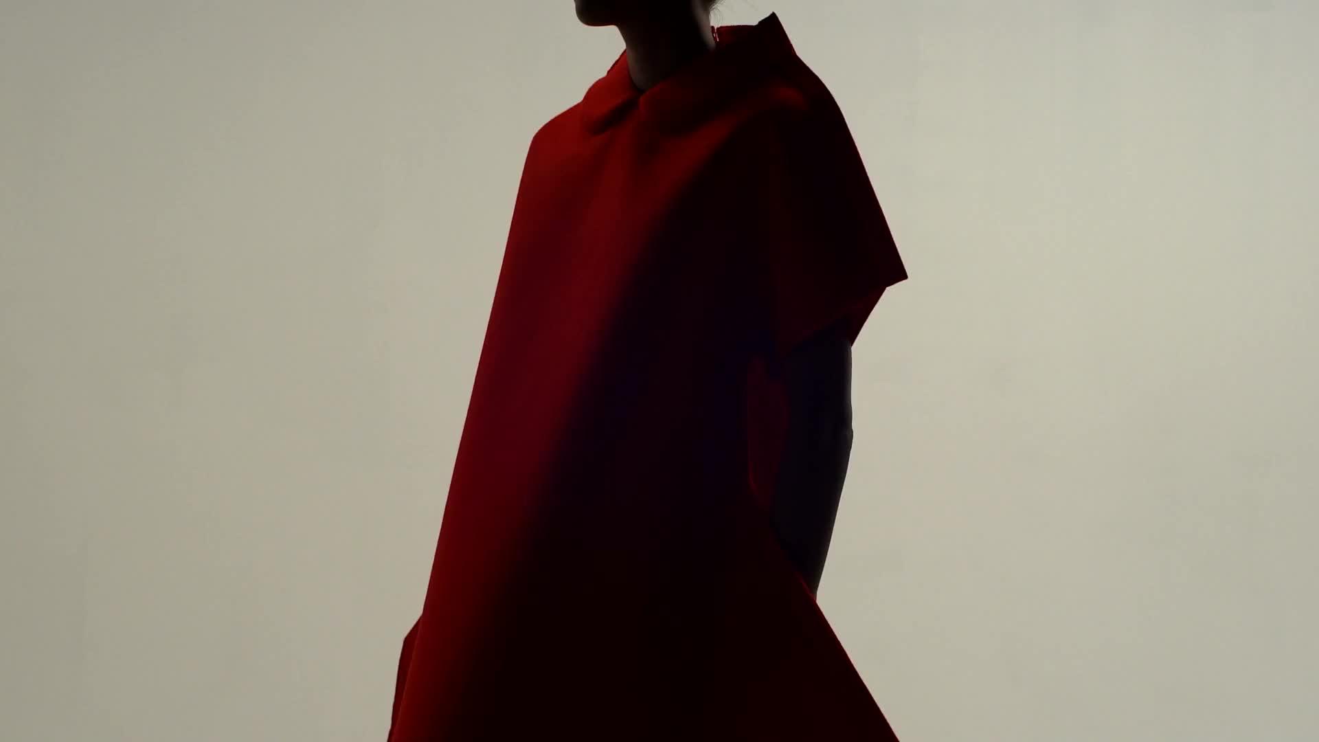 Wallpaper fashion design film red dress video