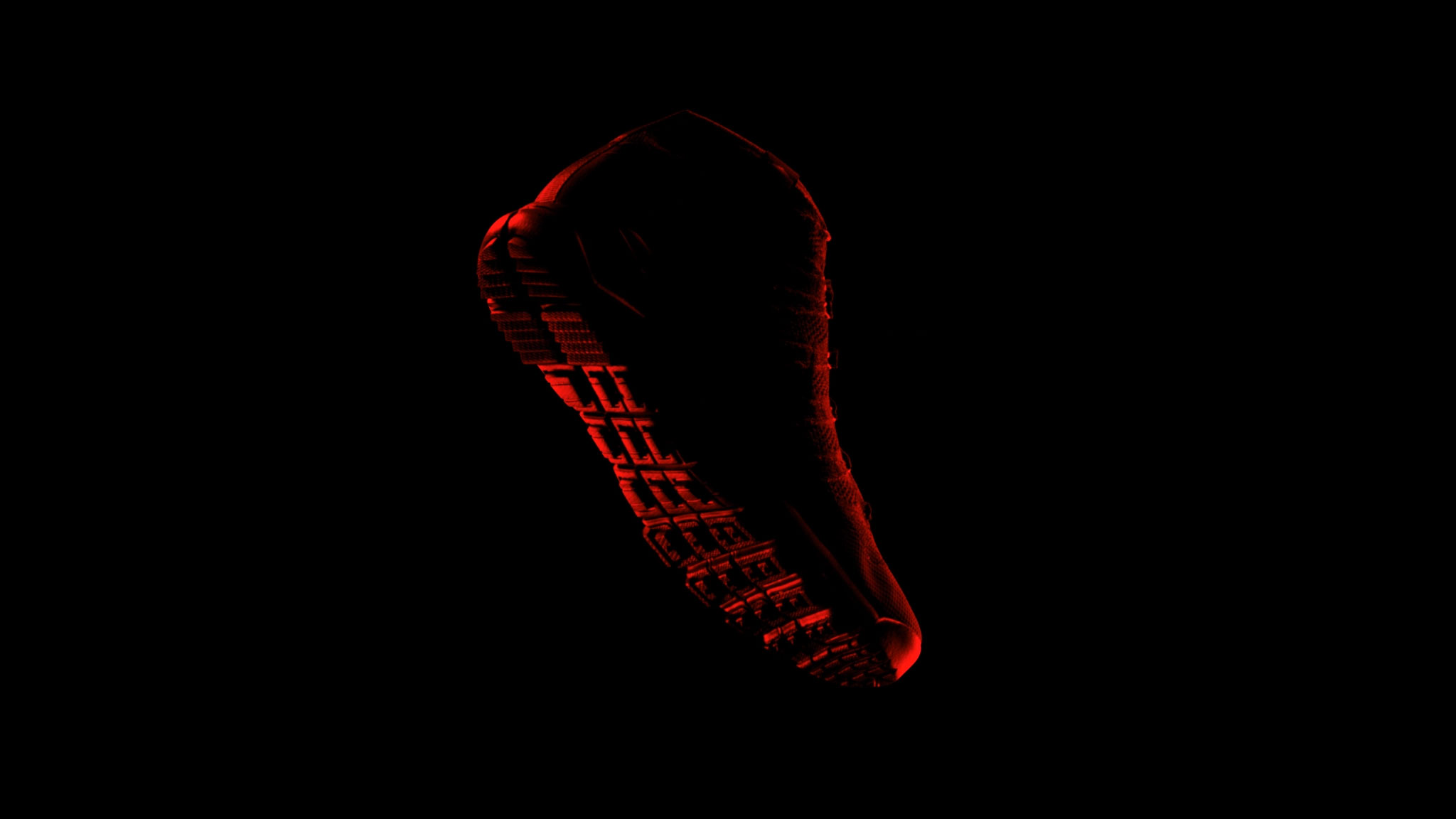 Nike Tech Pack Sneaker Boots 3d film video chukka red