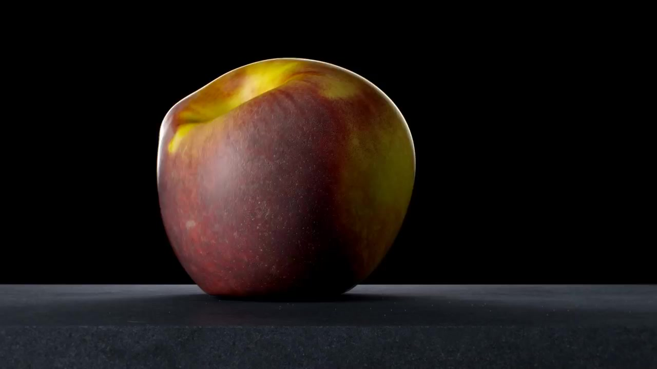 50 Days self initiated experiments video 3d design peach melt