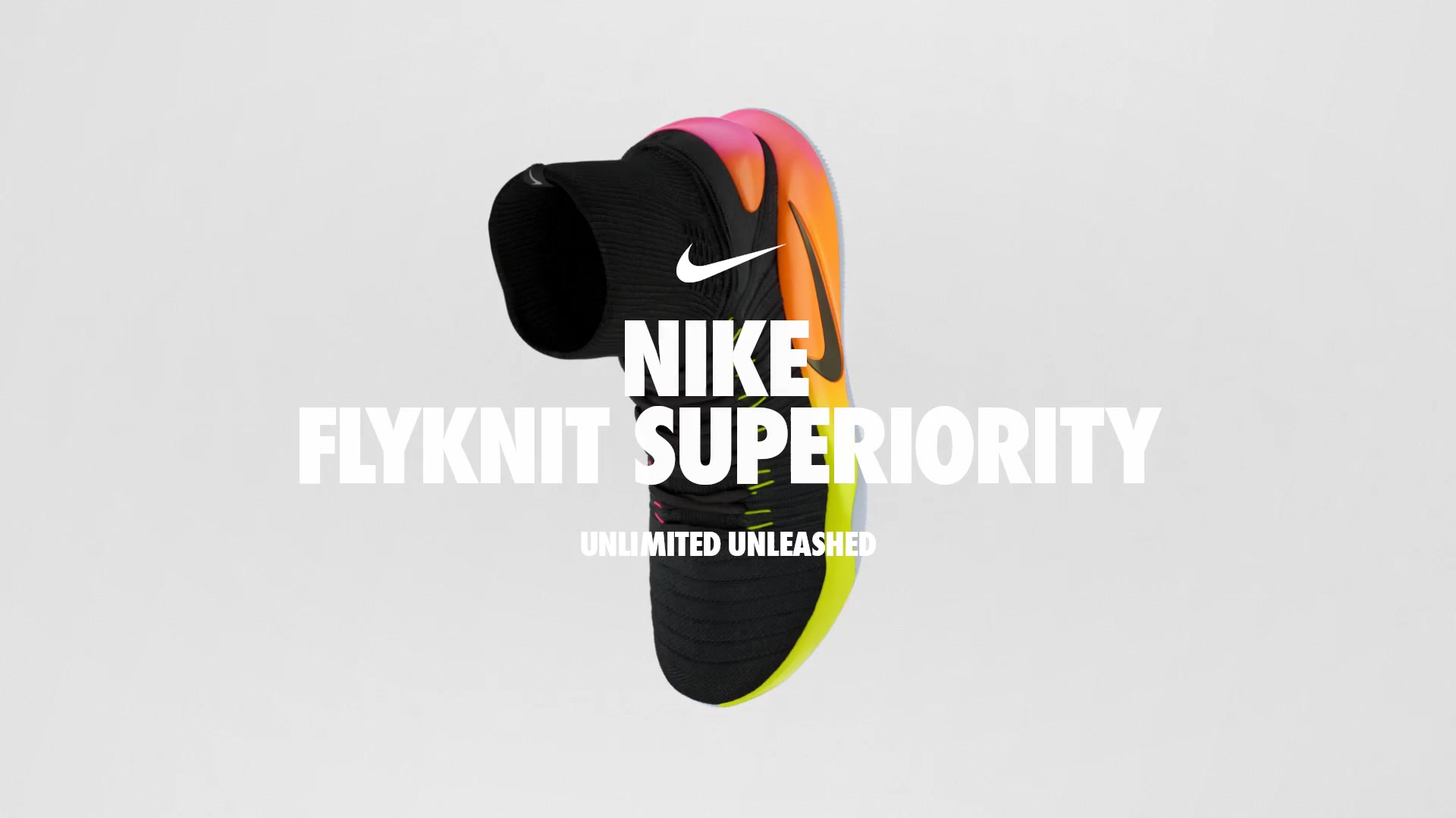 Nike Flyknit 3d shoe cgi design video edit render