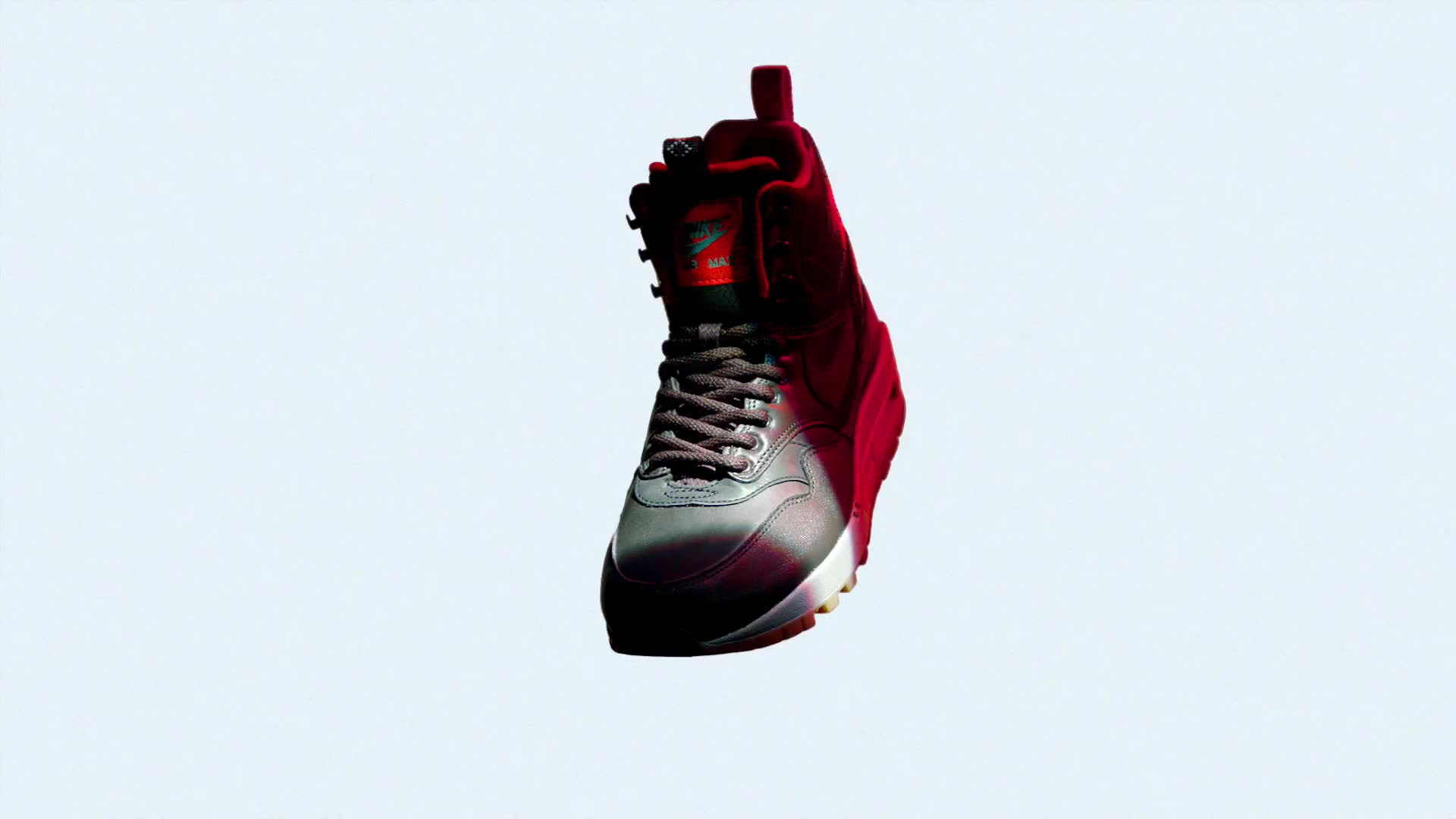 Nike Tech Pack Sneaker Boots red max transform 3d cgi